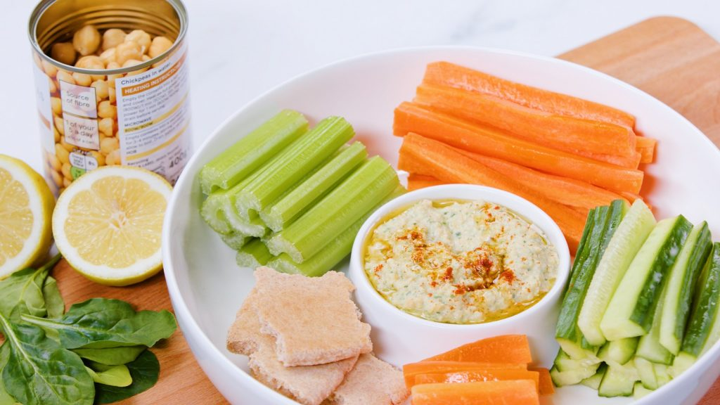 Spinach Hummus - Love Canned Food
